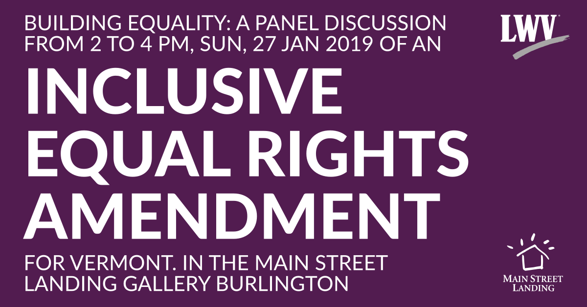 Inclusive Equal Rights Panel Discussion Jan
