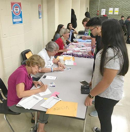 Registering Students to Vote
