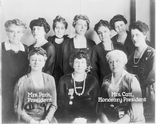 Portrait of the 1920 Board of the US League of Women Voters