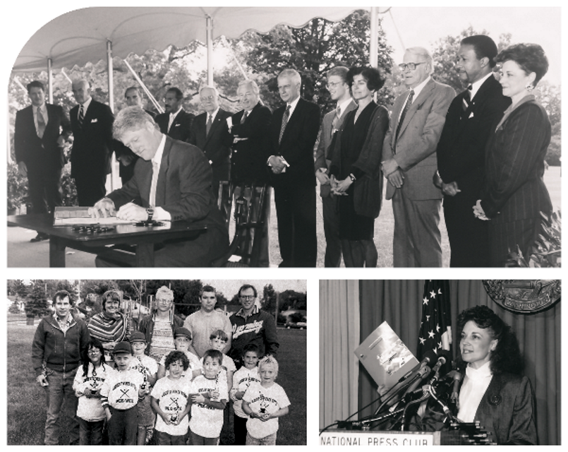 LWV 100th - 1990 photo collage