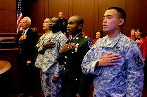 New Citizens Swear-In Ceremony, NY (2008)