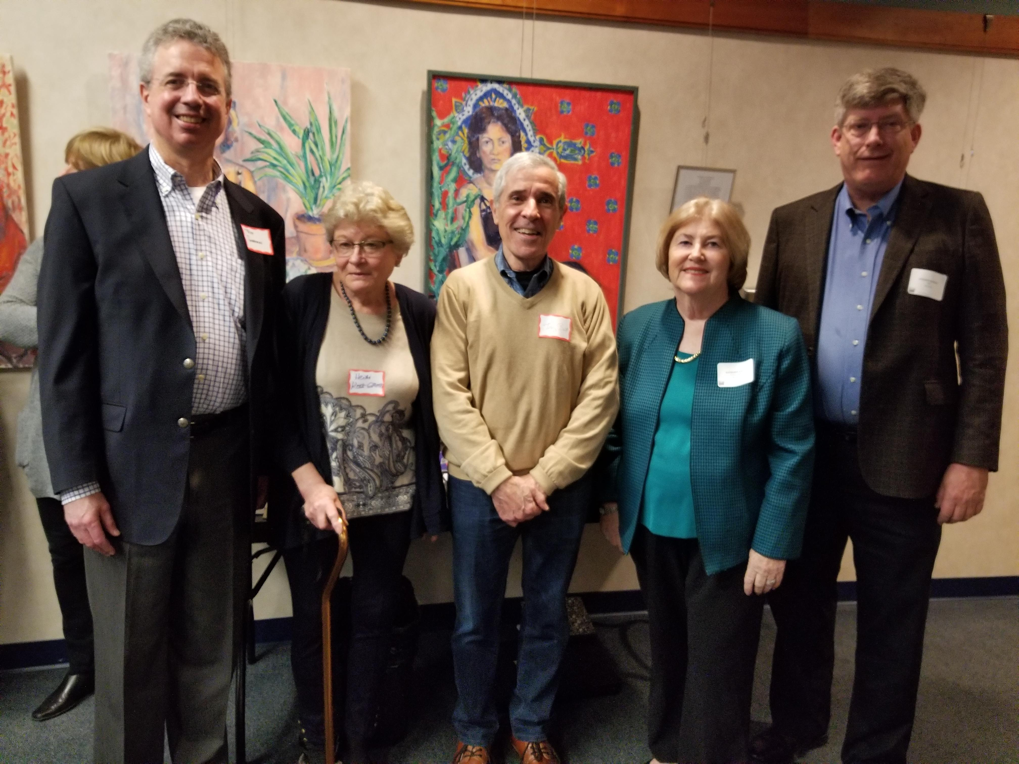 2018 Retirees from Wellesley Boards