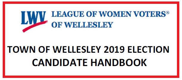 2019 Wellesley Candidate Handbook