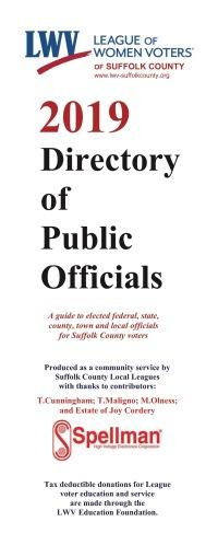2019 Directory of Public Officials cover