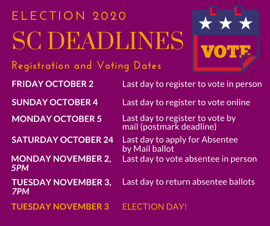 2020 Election Dates