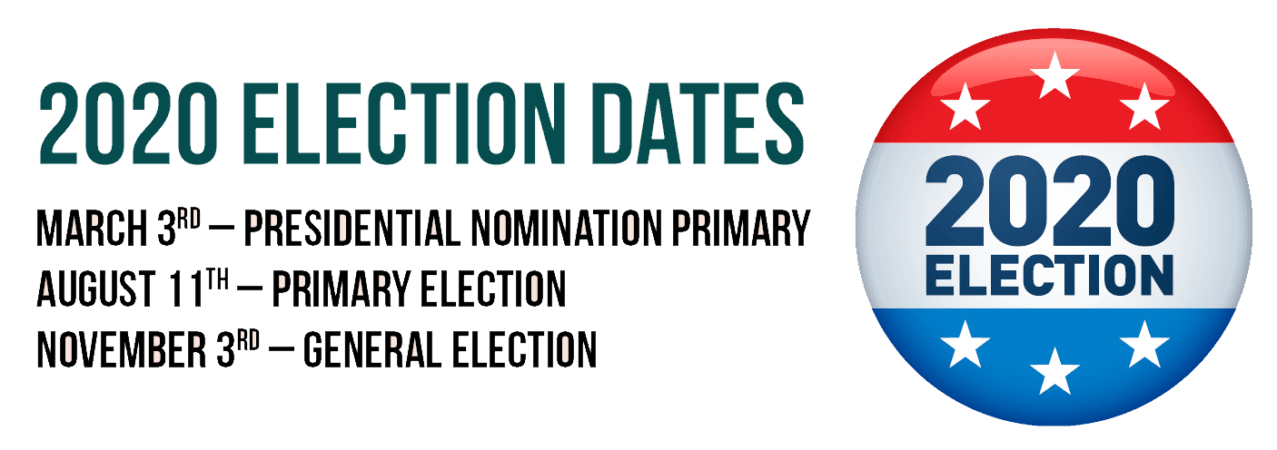 2020 Elections Dates