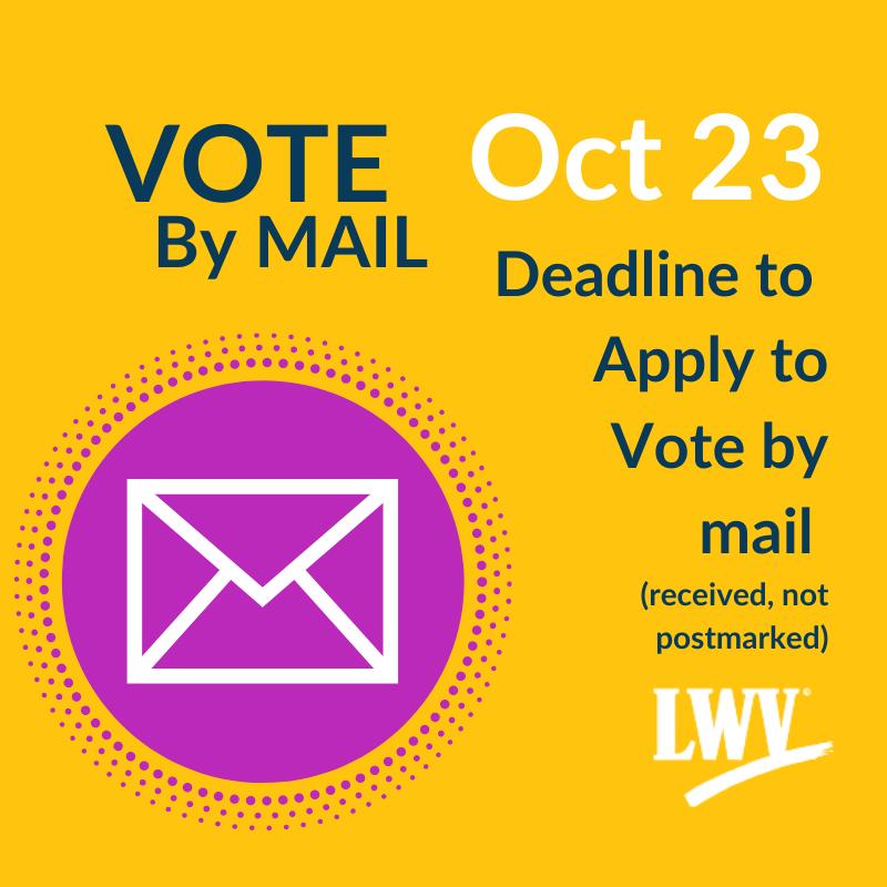 Vote by Mail Deadline