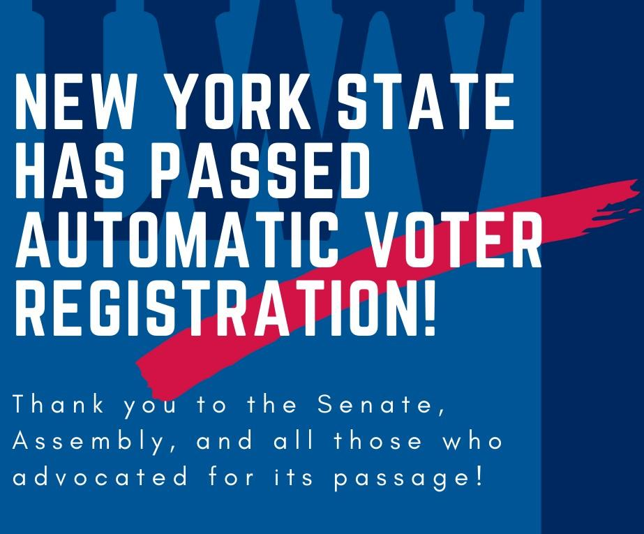 NYS automatic voter registration