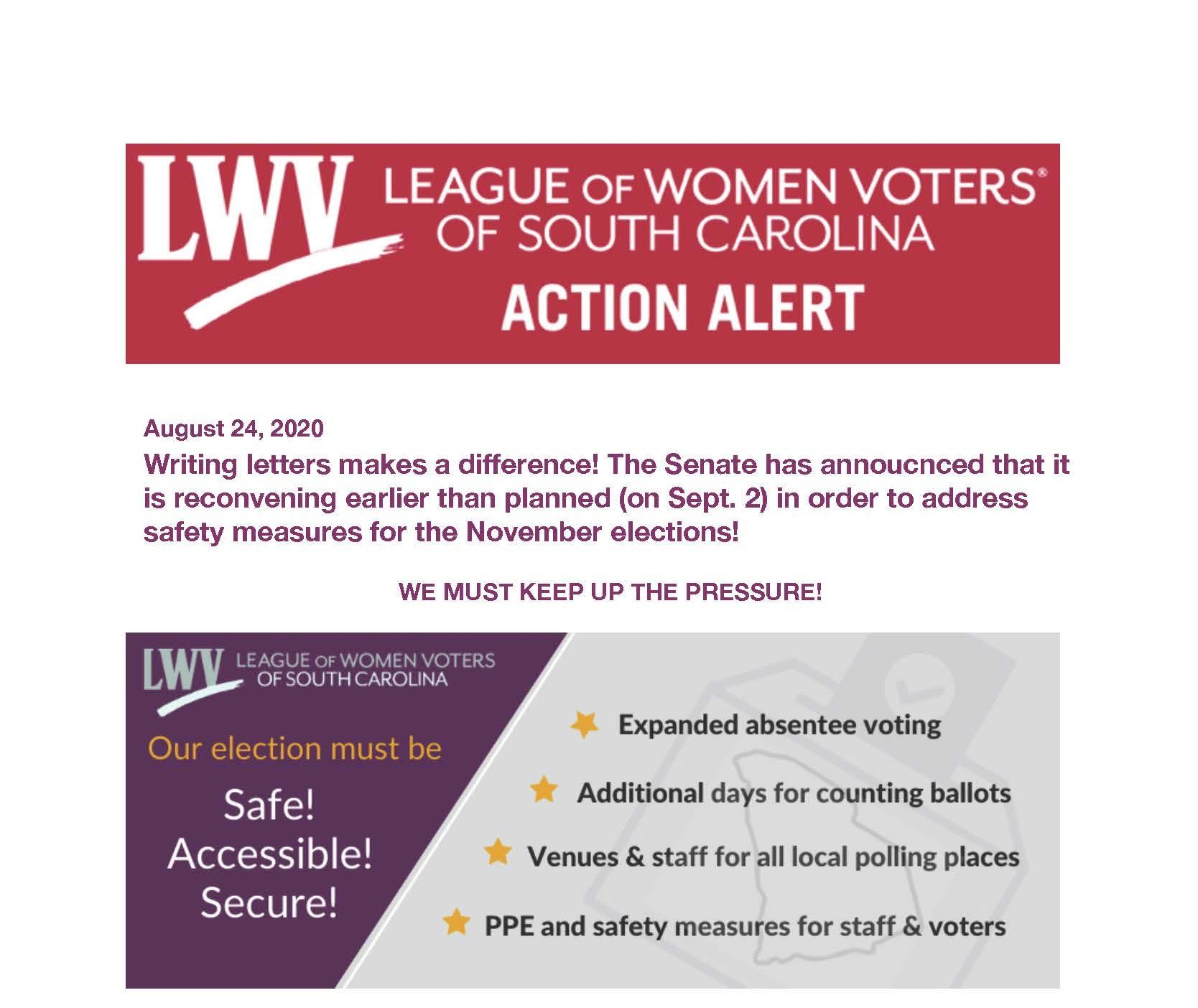 Action Alert 8-24-2020