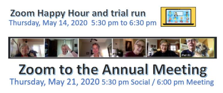 Zooming to Annual Meeting