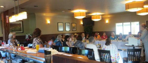 June 2013 LWV Placer County Annual Meeting in Auburn, CA
