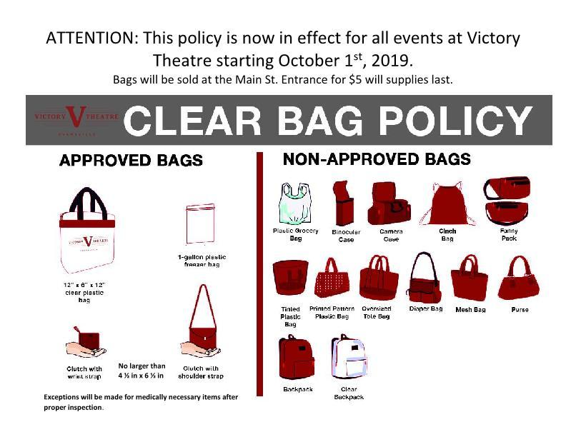 Victory bag policy