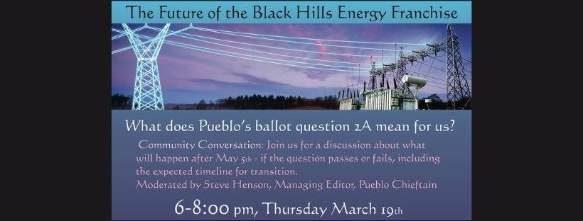 Blackhills Community  Conversation Thursday, March 19