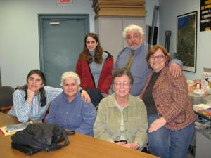 LWV Members at the Onondaga Board of Elections