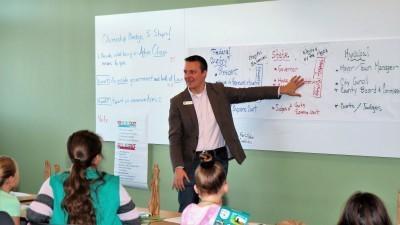 Brad Cromes teaching