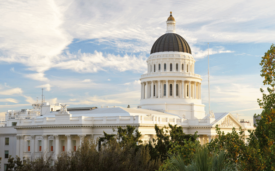 Picture of the California Capitol building