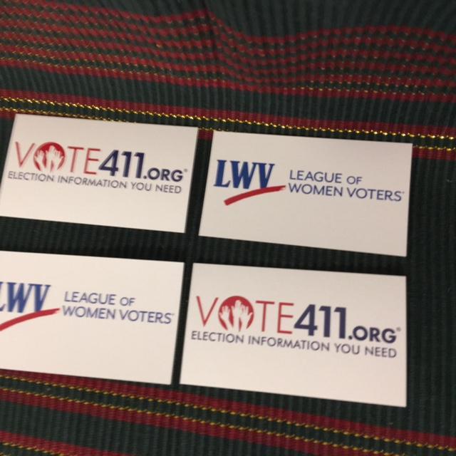 VOTE411 Cards