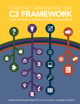 Cover of College Career and Civic Life c3 Framework report