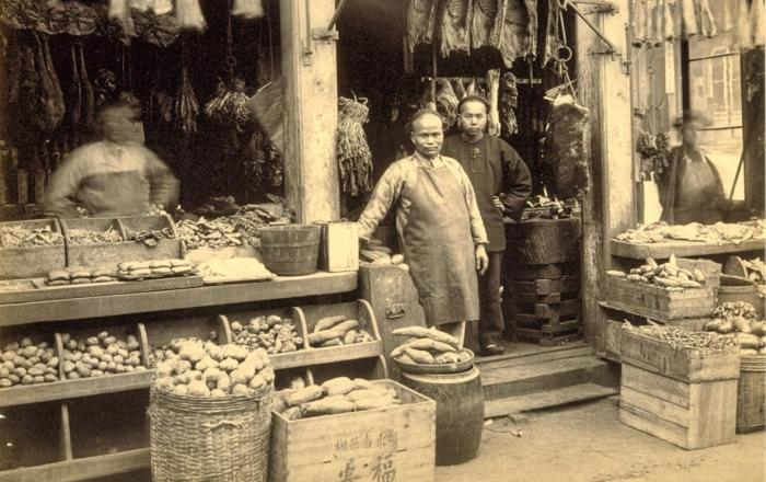 Chinese grocer