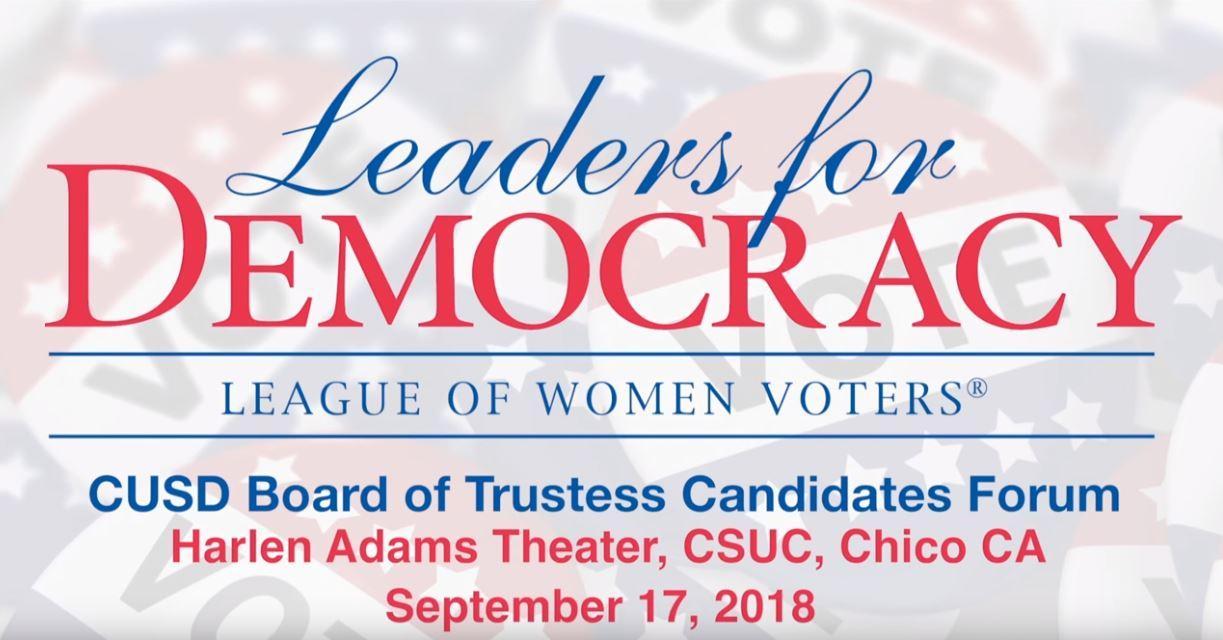 CUSD Trustees 2018