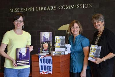 League members at Mississippi Library Commission