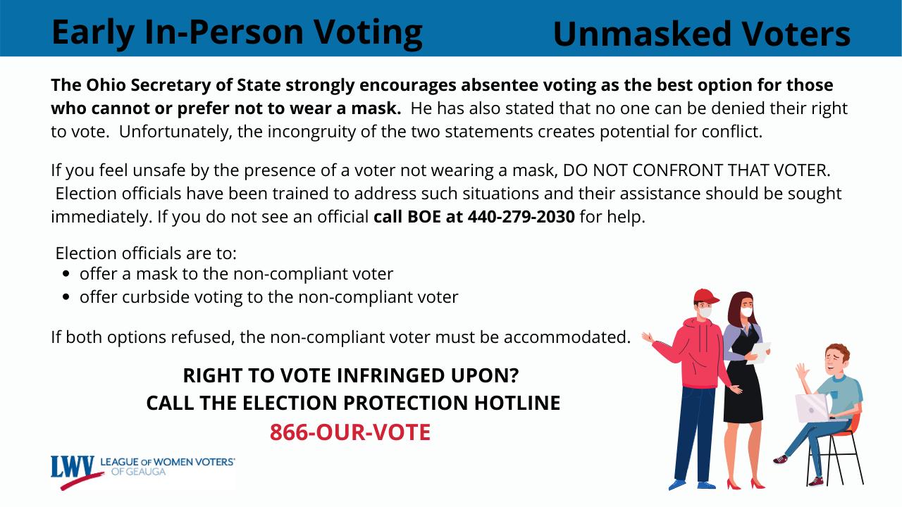 Unmasked Voter