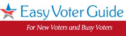 Easy Voter Guide Logo
