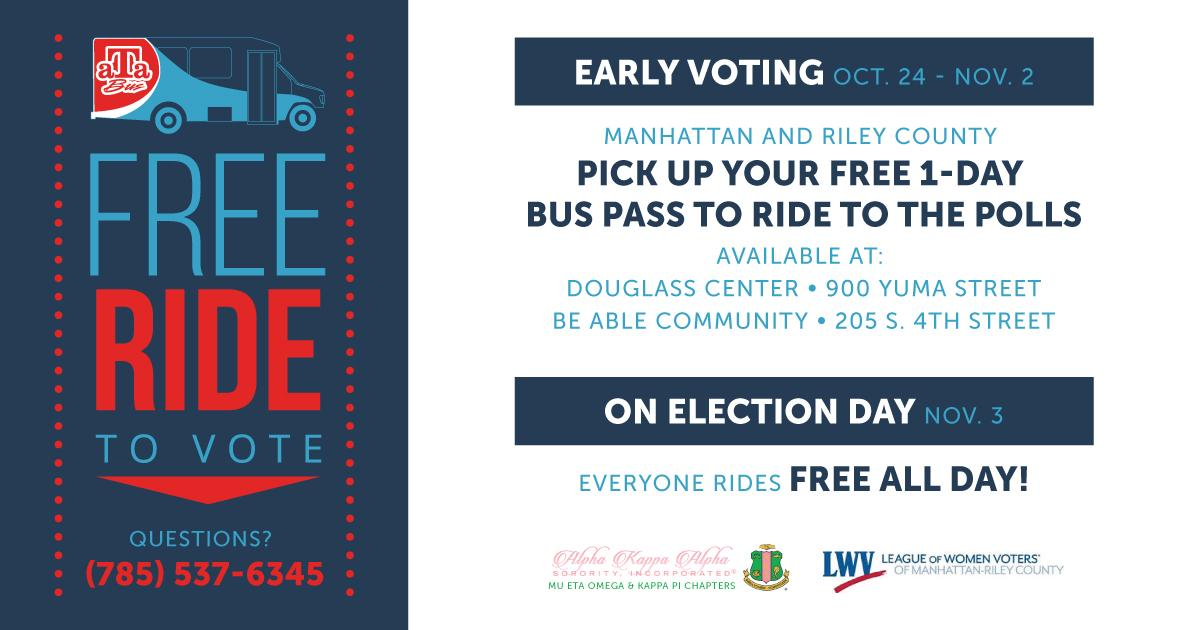 Ride to the polls
