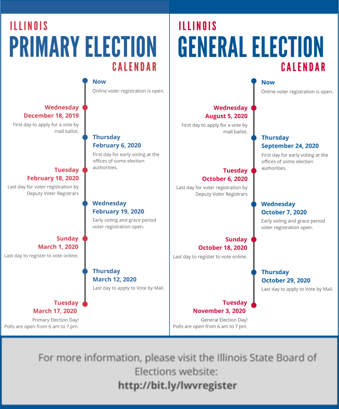 IL Election Calendar