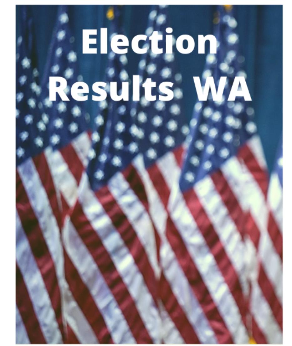 Election Results Washington State and Spokane