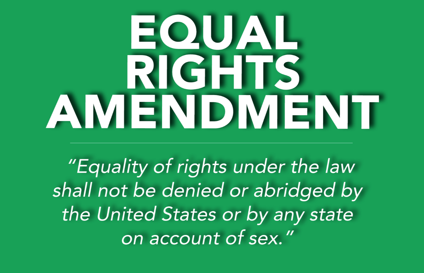Equality of rights under the law shall not be denied or abridged