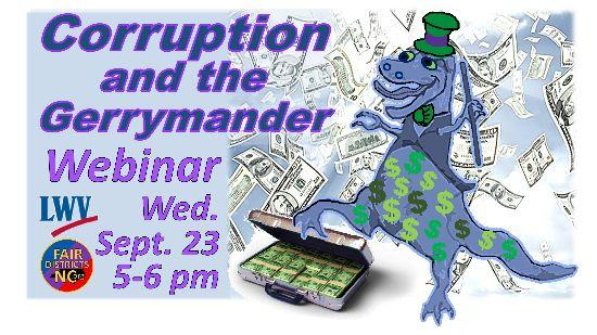 Fair Districts Graphic - Corruption and the Gerrymander