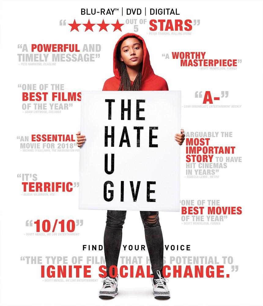 The Hate U Give DVD Cover