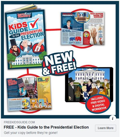 Free Kids Guide to Presidential Elections