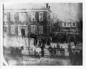 Freedmens First Vote  - 1866