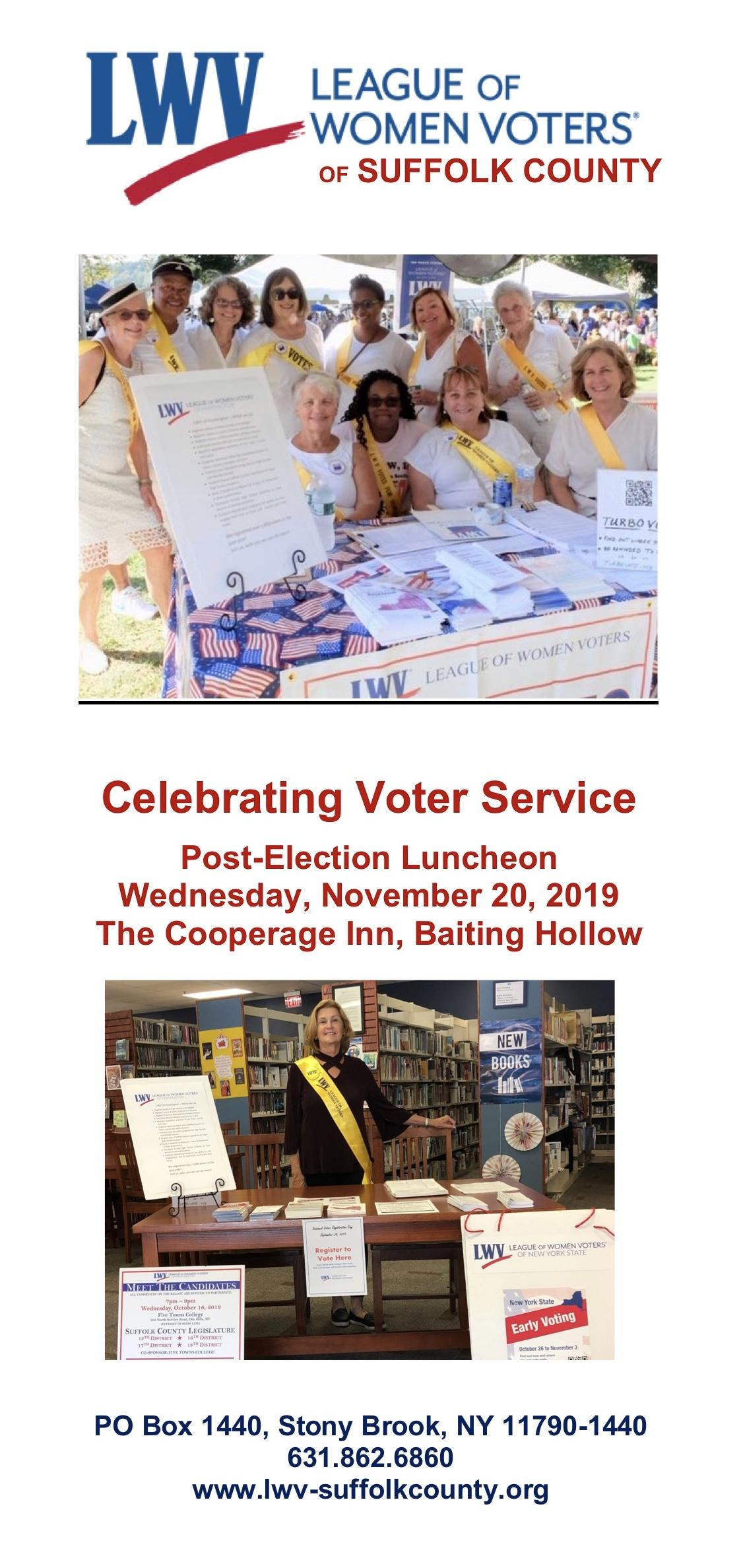 Voter Services Trifold Cover