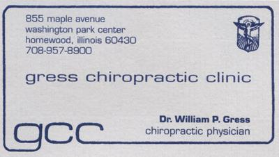 Gress Chiropractic Clinic