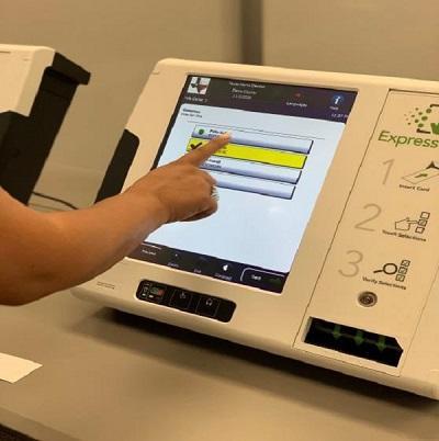New voting equipment