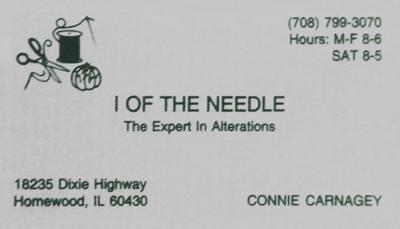 I of the Needle