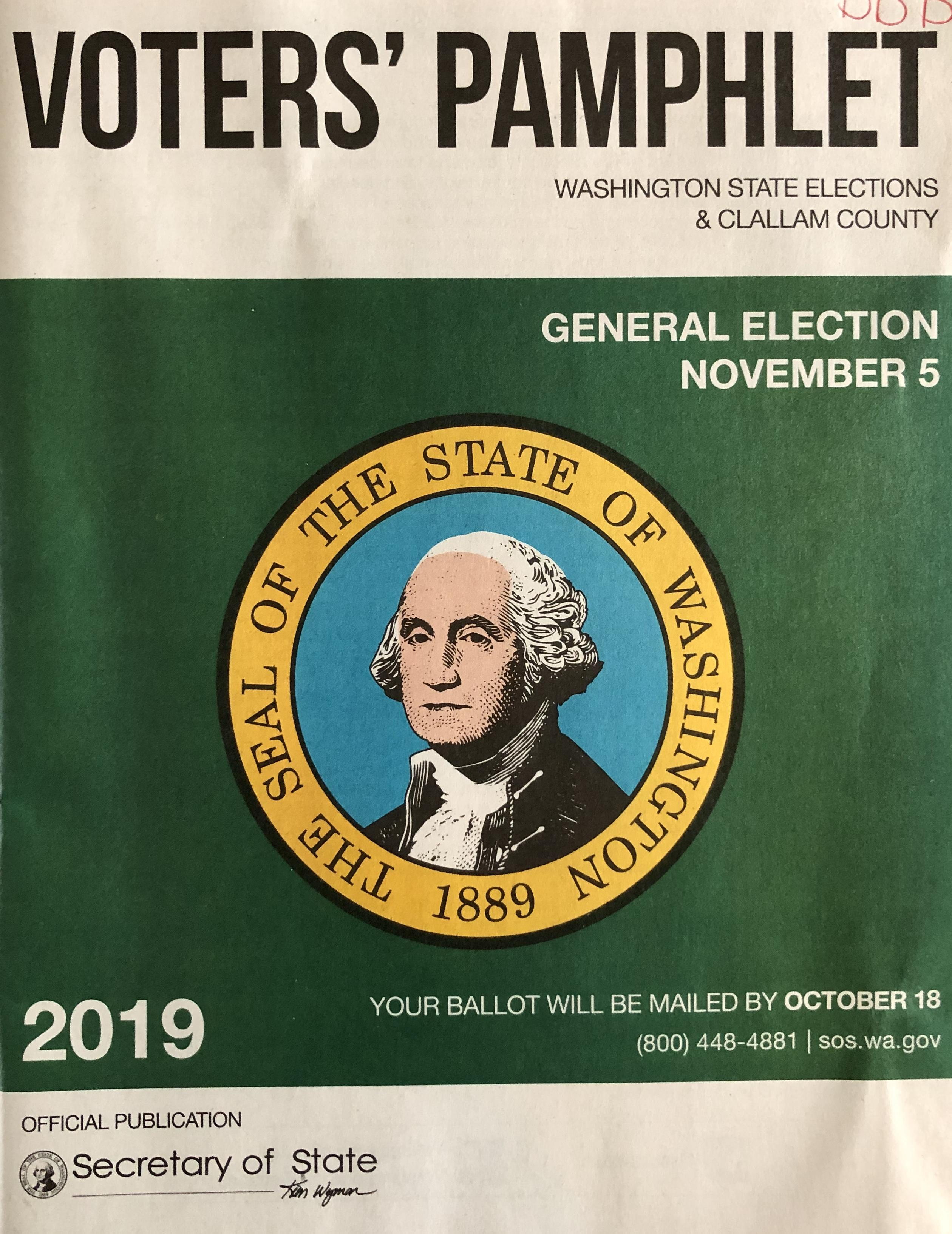 photo of cover of Voters Guide