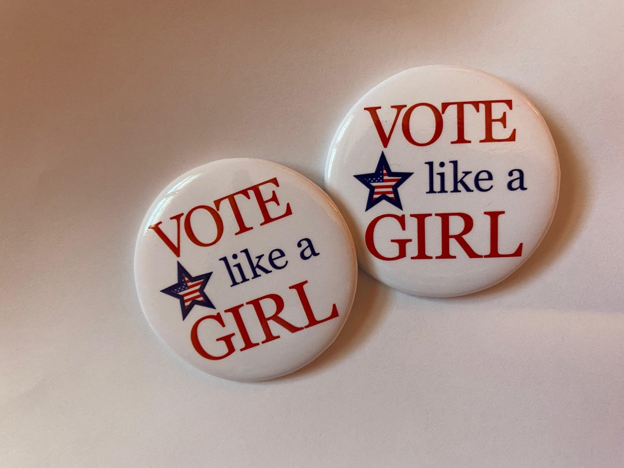 Vote Like A Girl