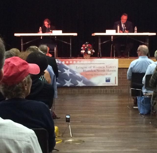 Hamden primary mayoral debate 2019