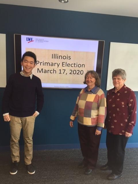 Victor Shi, Pris Mims, and Helene Gabelnick
