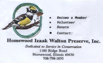 Homewood Izaak Walton Preserve