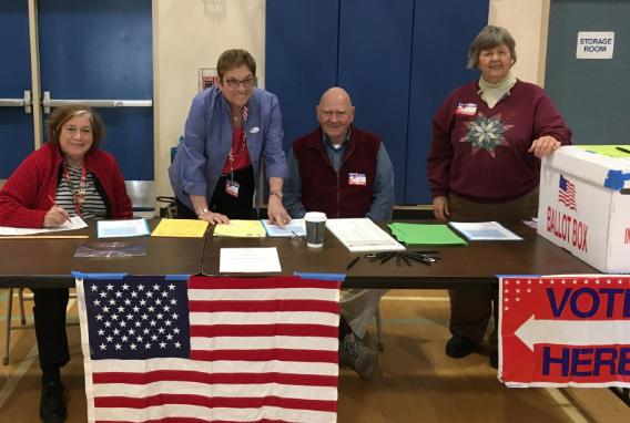 League of Women Voters San Luis Obispo - Adopt-A-Poll