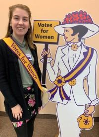 Suffragist Cutout for Sale through LWVMO