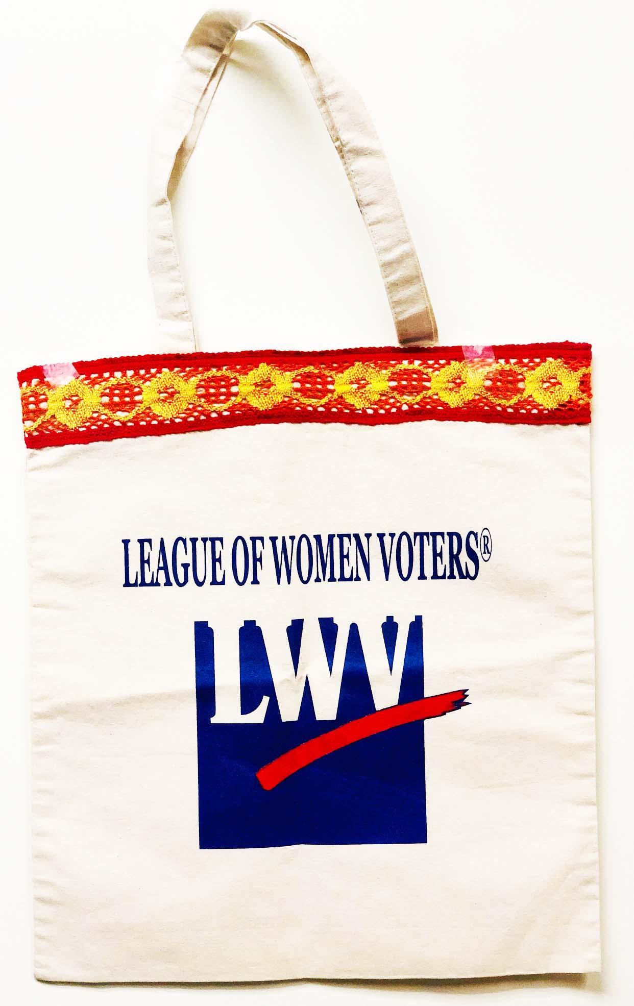 LWV Logo Canvas Bag
