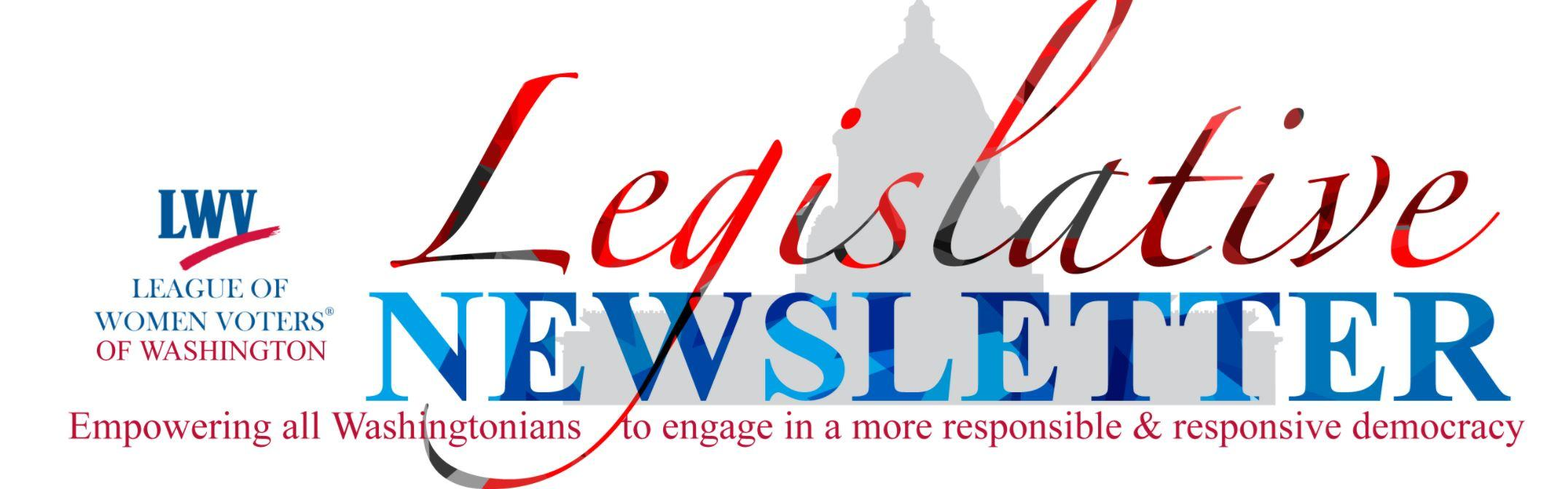 Washington State Legislative Newsletter