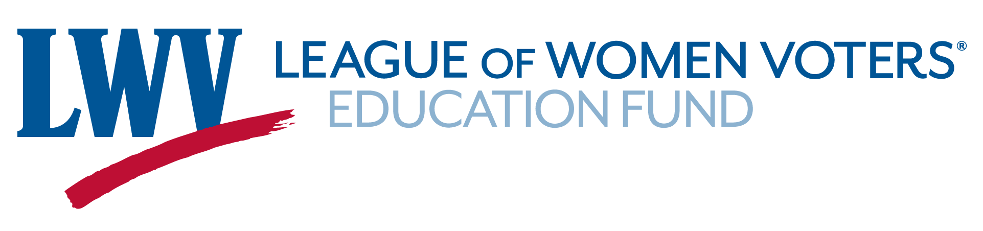 LWV - Education Fund logo