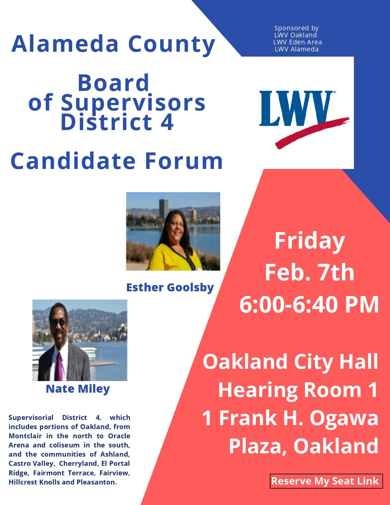 Candidate Forum February 7